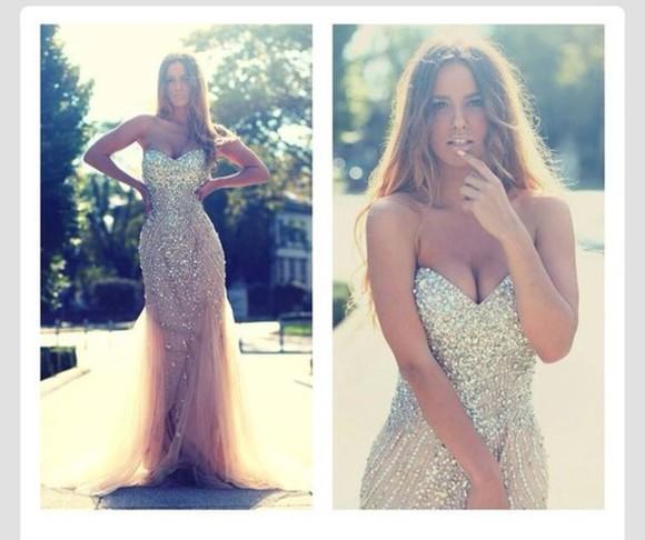 amazing fashion evening gown prom dress evening dress sexy dress