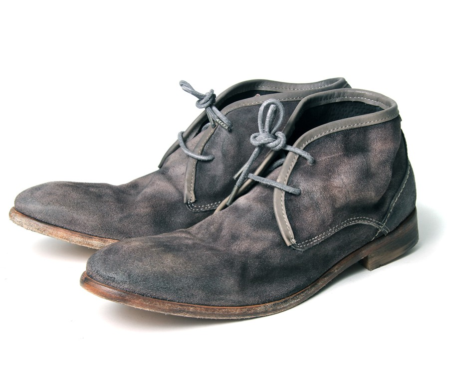 Men's Cruise (Grey) Suede Chukka Boots | H by Hudson