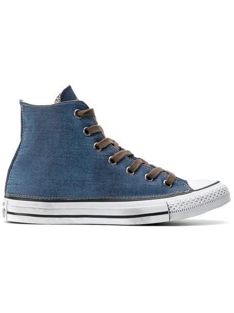 converse women sneakers cotton blue shoes