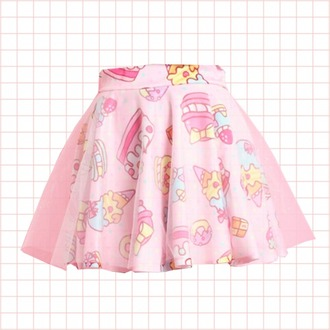 skirt tulle skirt yummy sweet japanese fashion cake