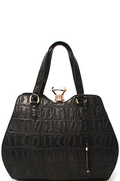 diamonds black bag