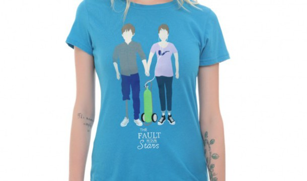 t-shirt the fault in our stars girl and closet