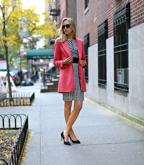 the classy cubicle coat dress shoes sunglasses jewels belt