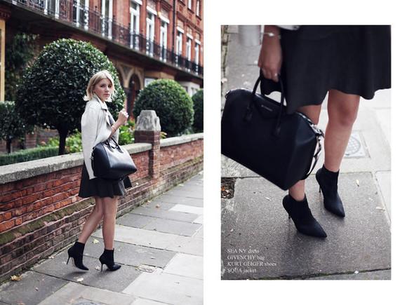 perfecto jacket blogger into the fold bag