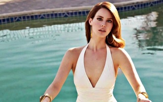 swimwear lana del rey white swimsuit
