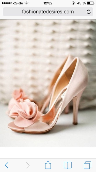 shoes high heels wedding clothes peep toe champagne nude