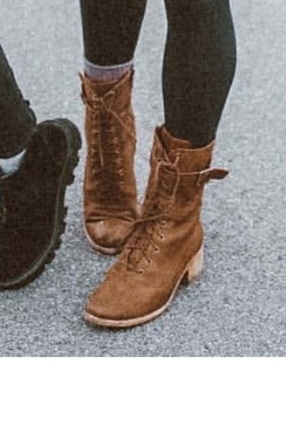 shoes cognac