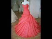 dress,prom dress,prom,melone,mermaid,bridesmaid,ball gown dress,bride,mermaid prom dress,wedding dress,long prom dress,pink prom dress,pink,pink dress,coral dress,coral,elegant,elegant prom gown,elegant prom dresses,red prom dress,strapless,sweetheart neckline,long dress,strapless dress,silver,sparkle,salmon dresses,floor length prom dress