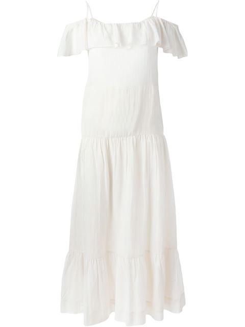 Iro Ruffled Off Shoulder Dress - Papini - Farfetch.com