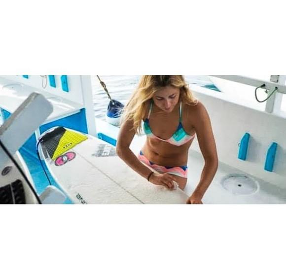 swimwear colorful geometry bikini