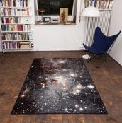 stars,home decor,galaxy print,rug,carpet