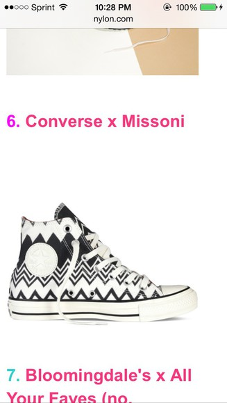 shoes converse sneakers high top sneaker aztec