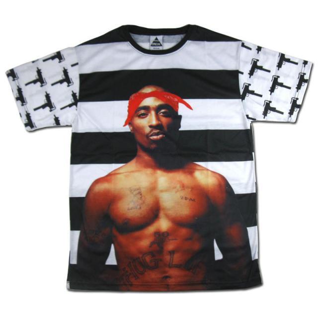 """Tupac shakur """"in memory of tupac"""" print t"""