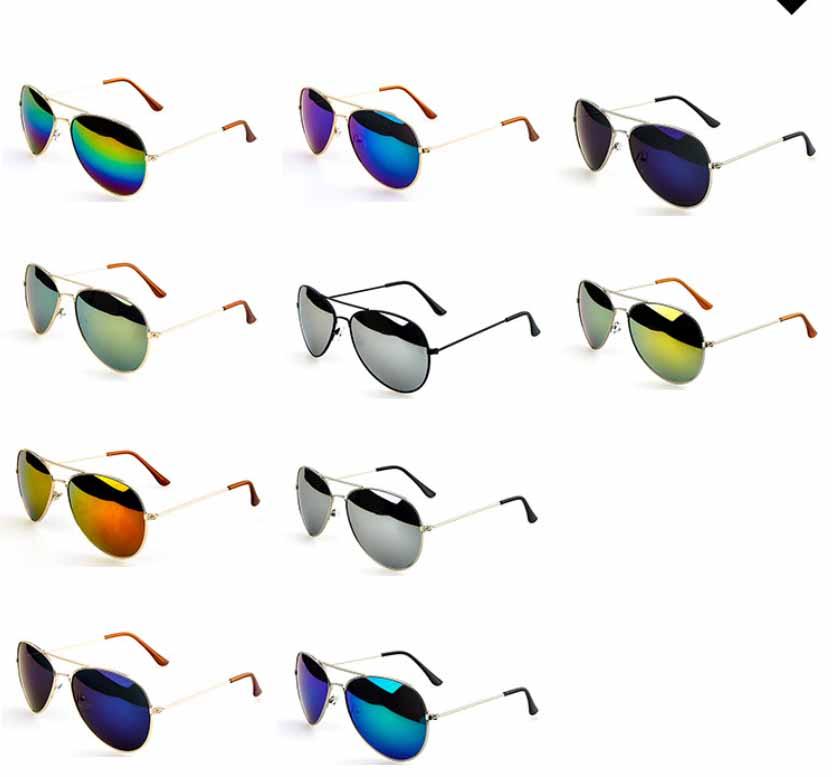 Fashion Men Women Eyewear Designer Cop Pilot Aviator Sunglasses Classic Shades   eBay
