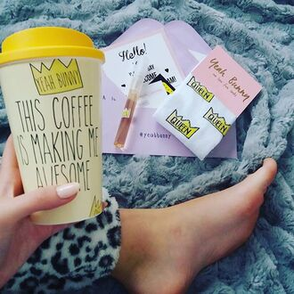 home accessory yeah bunny coffee queen tumbler gift ideas cute crown