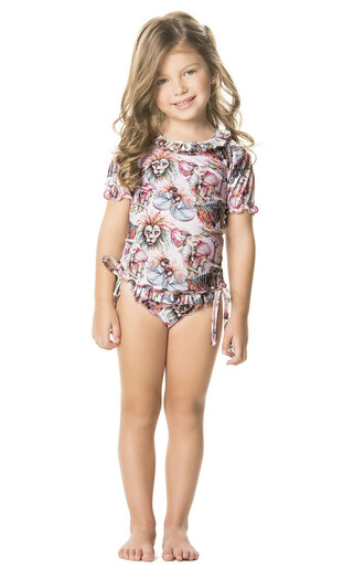 swimwear agua bendita cover up designer kids kids fashion shirt bikiniluxe