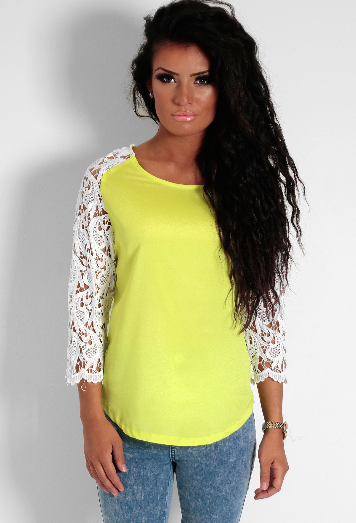 Solero Green Curved Hem Blouse Top | Pink Boutique