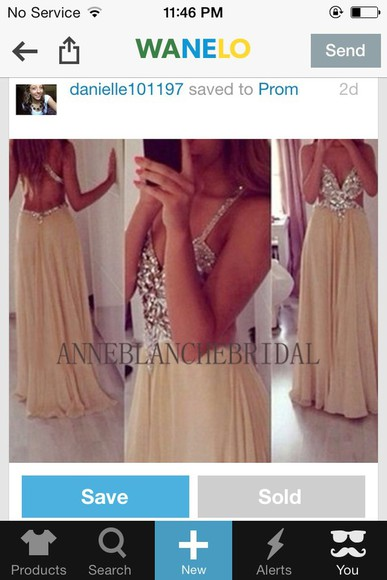 chiffon prom dress long beaded nude dress long prom dress