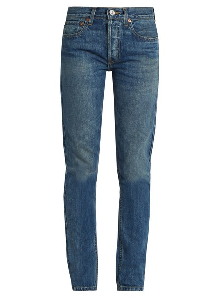 RE/DONE ORIGINALS jeans high denim
