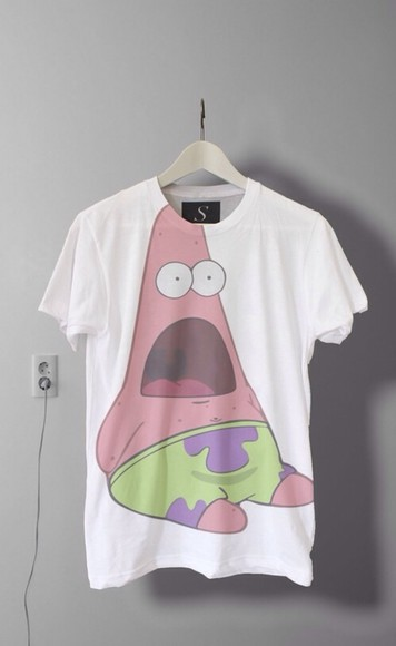 nike white sport green pink cute adidas blouse spongebob patrick t-shirt sweet chanel sleep