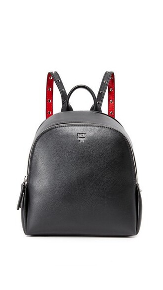 studs backpack black bag