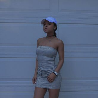 dress wolftyla wolf tyla cap short short dress stripes tight sexy dress sleeveless sleeveless dress striped dress skinny