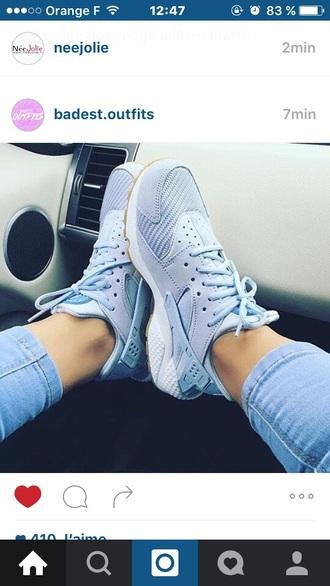 shoes nike huarache basket nike shoes nike air huarache blue nike sneakers nike running shoes