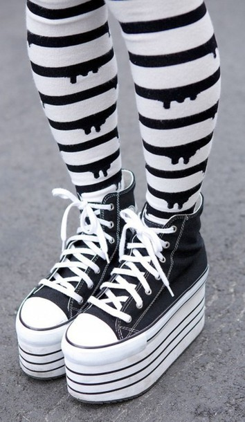 Pants Tight Pastel Goth Cute Kawaii Converse
