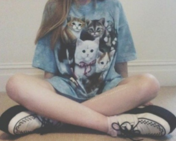 t-shirt cats cute shirt