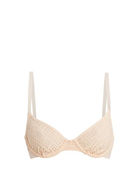 NEGATIVE UNDERWEAR bra mesh bra mesh pink underwear