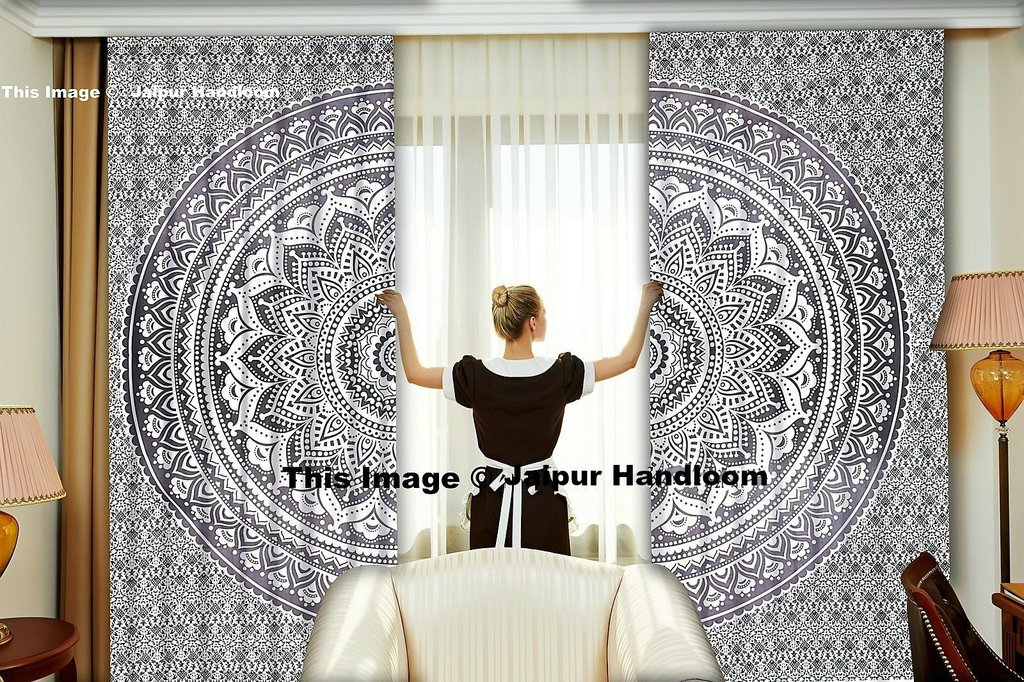 dorm room mandala curtains boho living room door curtains tapestry wall hanging & dorm room mandala curtains boho living room door curtains tapestry ...