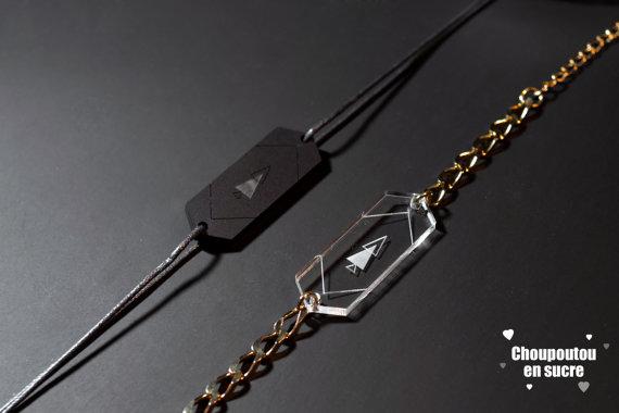 Coffret de bracelets spécial St Valentin par hellohelmut sur Etsy