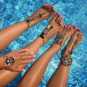 jewels,foot bracelet,body kandy couture,Boho foot jewels,feet jewelry,gypsy accessories,Hand bracelet ring,hand chain,hand harness,bridal hand chain,hand jewelry,silver hand chain,hand piece,hand chain ring,slave bracelet,rhinestones,Crystal hand jewelry,bling,anklet,Toe chain rings,beach wedding,gypsy wedding,wedding accessories,beach jewelry,barefoot sandals,beach,foot jewelry,beach wedding barefoot sandals,accessories