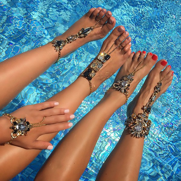 jewels foot bracelet body kandy couture Boho foot jewels feet jewelry gypsy accessories Hand bracelet ring hand chain hand harness bridal hand chain hand jewelry silver hand chain hand piece hand chain ring slave bracelet rhinestones Crystal hand jewelry bling anklet Toe chain rings beach wedding gypsy wedding wedding accessories beach jewelry barefoot sandals beach foot jewelry beach wedding barefoot sandals accessories