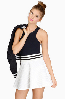So plush skater skirt $23