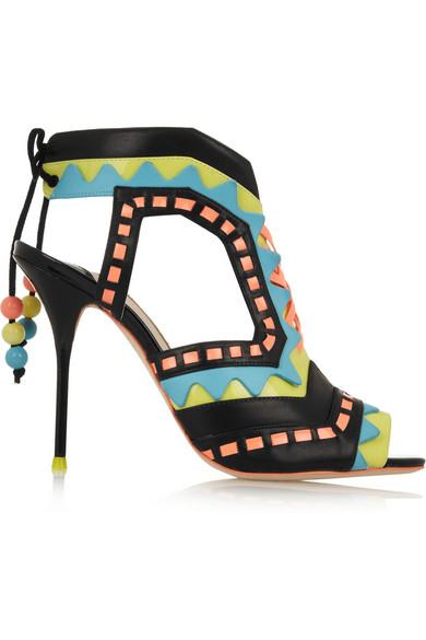 Sophia Webster | Riko cutout patent-leather sandals | NET-A-PORTER.COM