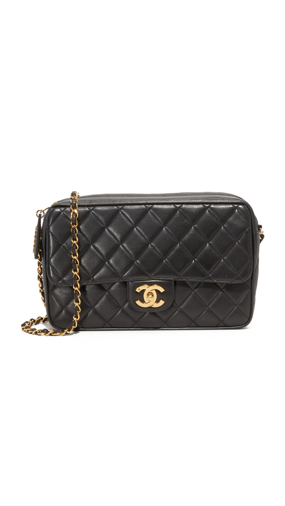 4147bfe0adc4 $3995. What Goes Around Comes Around · What Goes Around Comes Around Chanel  Camera Bag (Previously Owned) - Black
