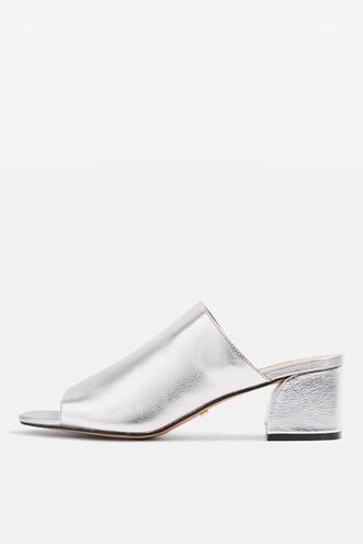 soft sandals silver shoes
