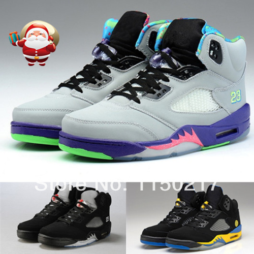 Free shipping 2014 wholesale cheap retro J5 sneakers sale!  JD J 5 V oreo men and women  basketball shoes athletic shoes-in Women's Shoes from Shoes on Aliexpress.com