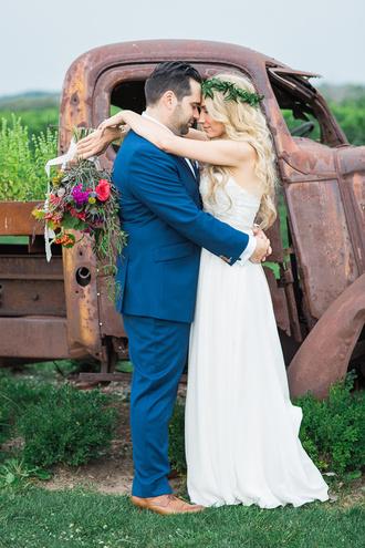 ruffled blog blogger dress shoes hipster wedding wedding dress
