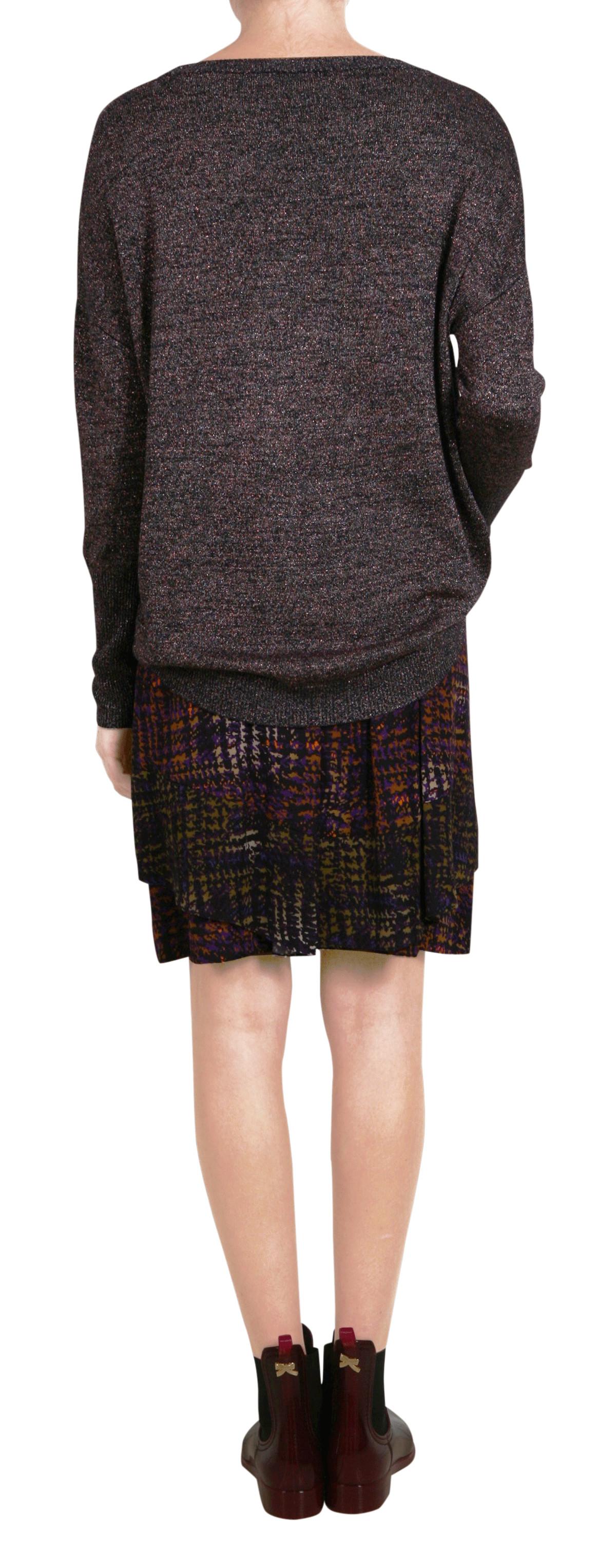 sheen o neck 1 1 knit shop schumacher onlineshop. Black Bedroom Furniture Sets. Home Design Ideas