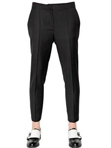 Wool gabardine pants