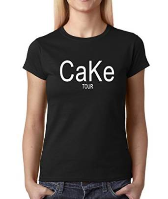 Amazon.com: Expression Tees CaKe Tour Womens T-shirt: Clothing