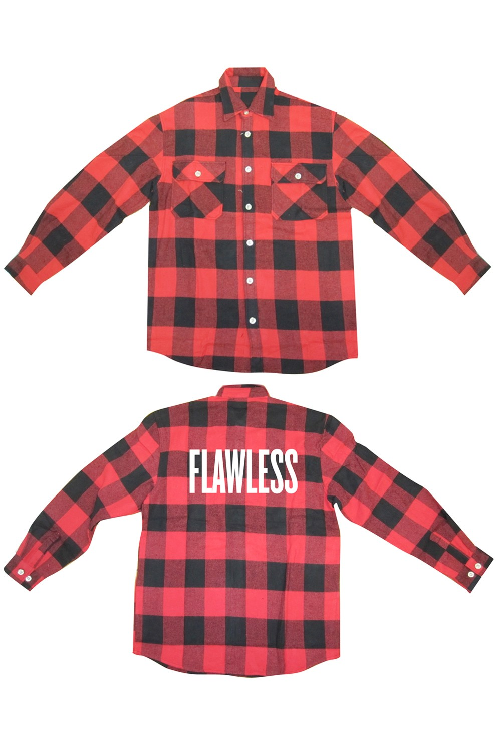 Flawless flannel shirt