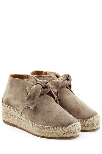 espadrilles suede grey shoes