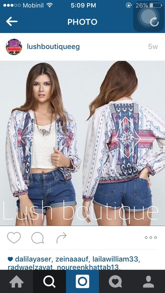 jacket cardigan boho bohemian floral colorful