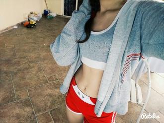 shorts pink sports wear