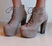 shoes,grey,sand,heels,jeffrey campbell,lita boots