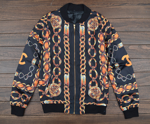 Most wanted gold chain jacket