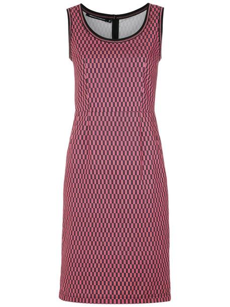 Reinaldo Lourenço dress printed dress women cotton purple pink